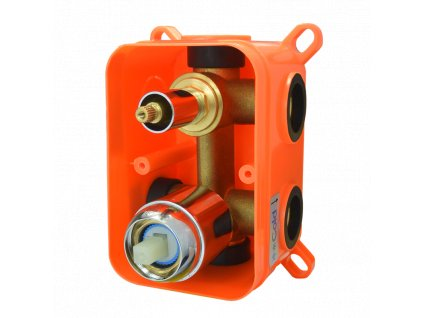 Mbox trojcestné podomítkové těleso s keramickým přepínačem