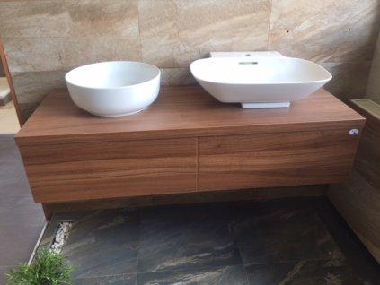 koupelnová skříňka 130x30x50 cm Krajcar