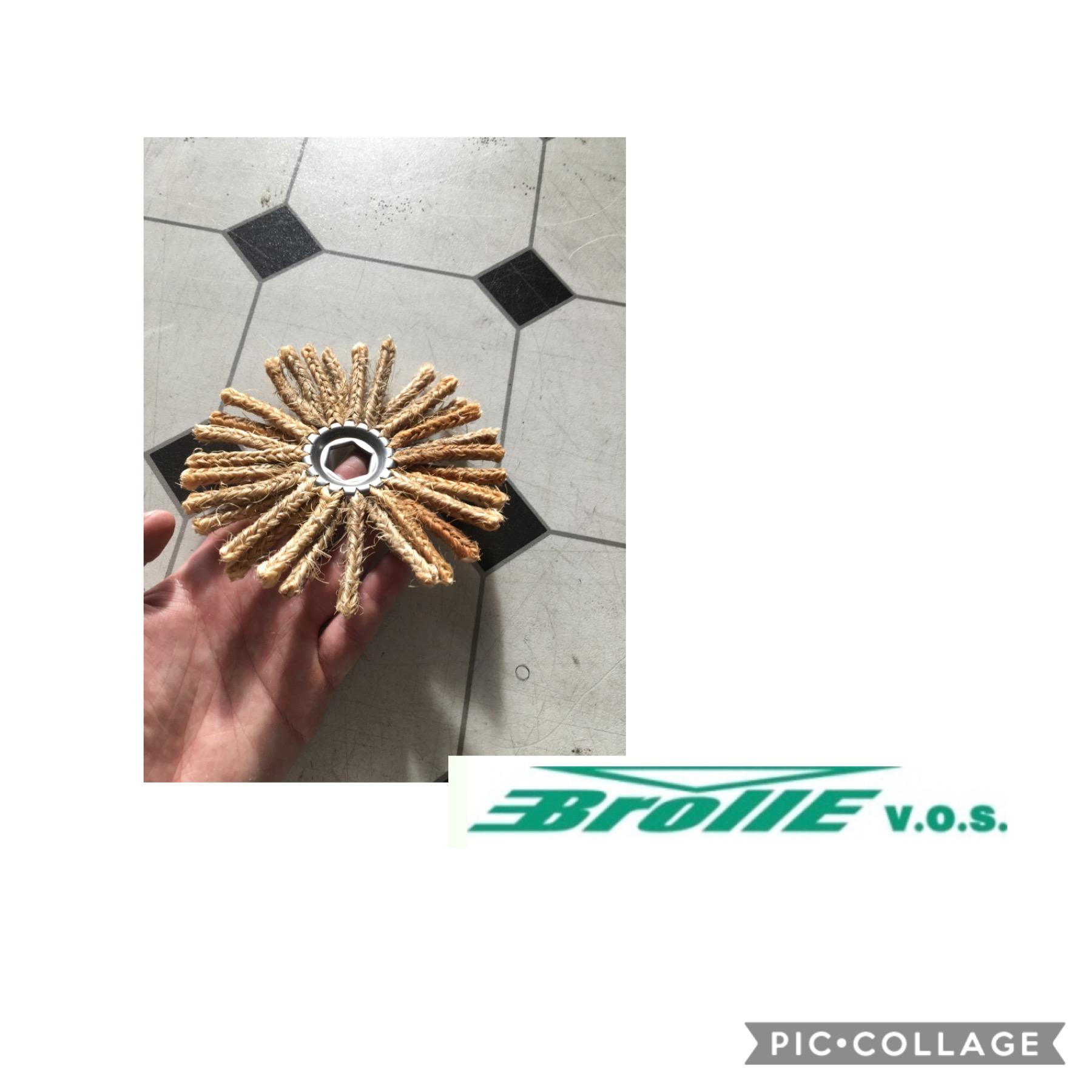 Šňůrové sisálové kotouče vyrábíme od začátku letošního roku a máme na ně kladné recenze přímo z výroby!!! Pro více informací nás kontaktujte.