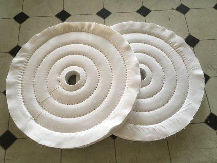 bavlněné leštící kotouče 350 x 25 Brolle vos
