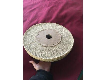 pleated polishing wheel sisal 350mm