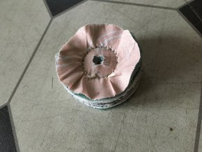 lestici disk do vrtačky na měď chrom mosaz