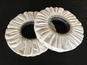 řasené balvněné leštící kotouče plaeted cotton polishing wheels buffs