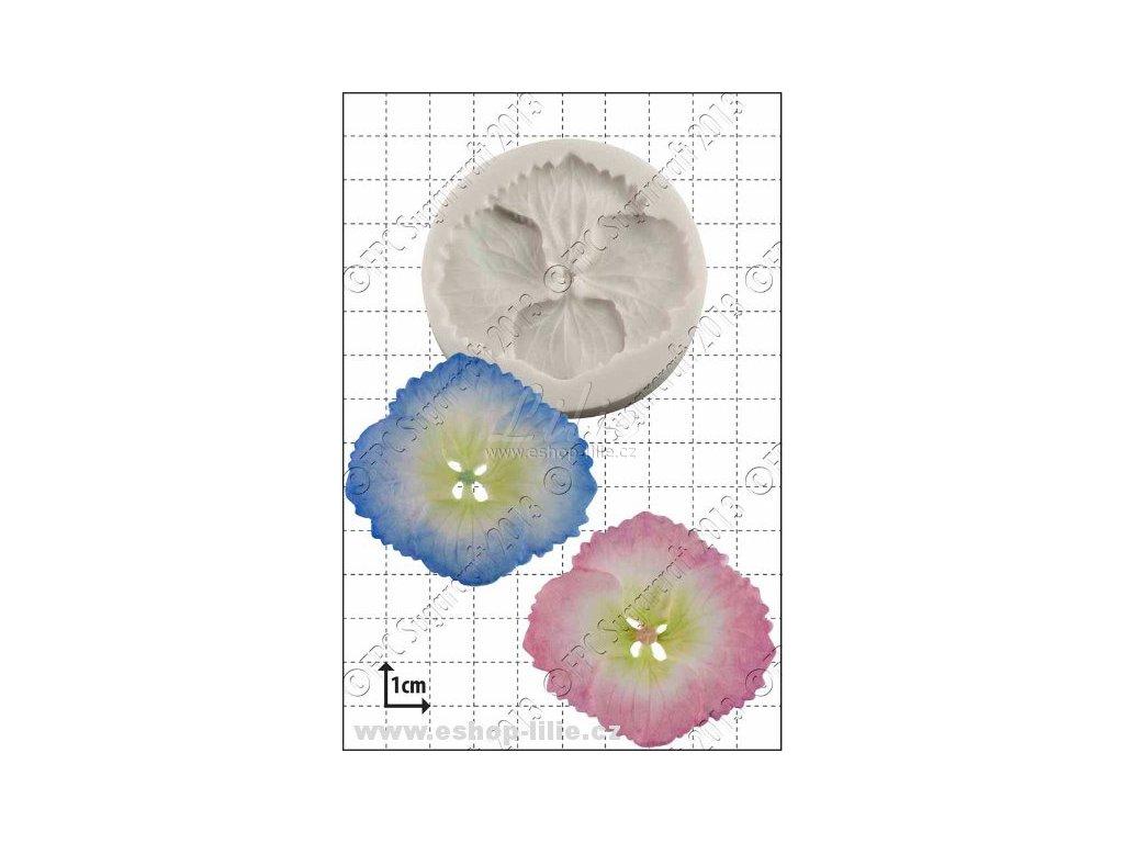 Hortenzie silikonová forma A015