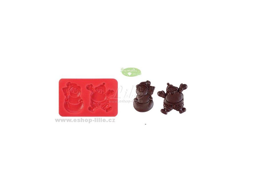 Vánoční Duo silikonová forma 30735
