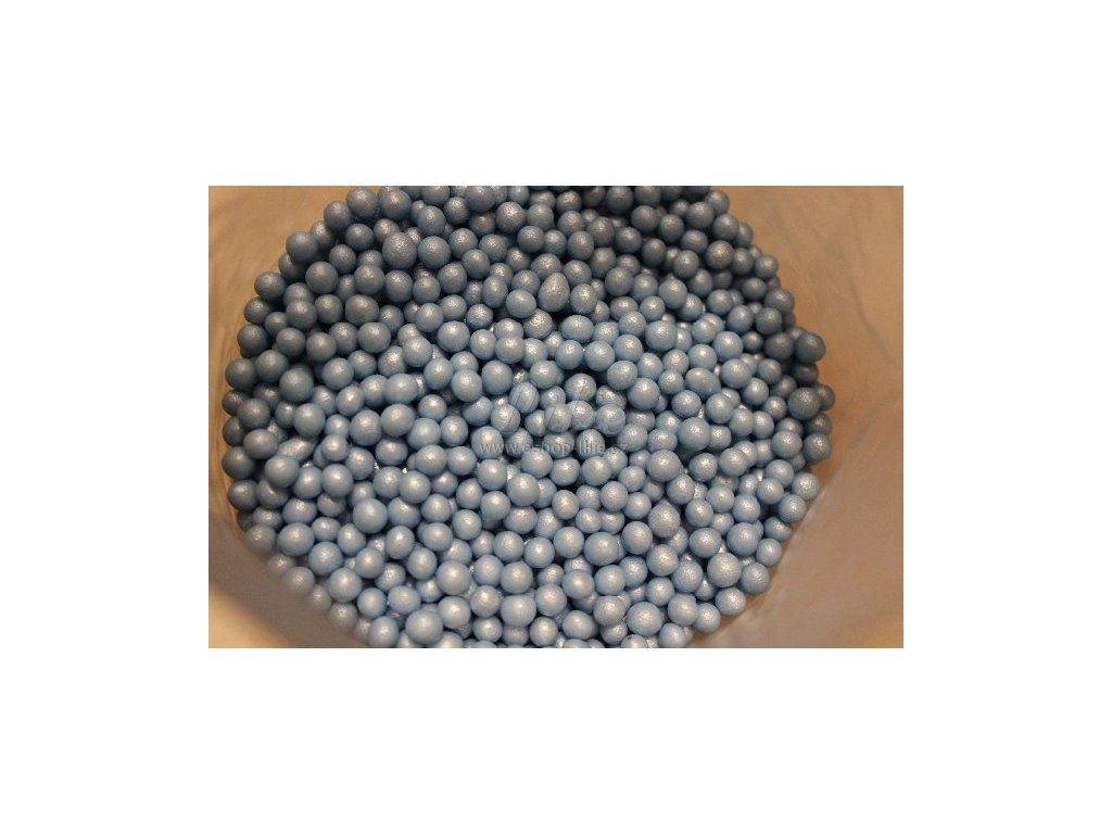 Modré perleťové perle FL25857-1