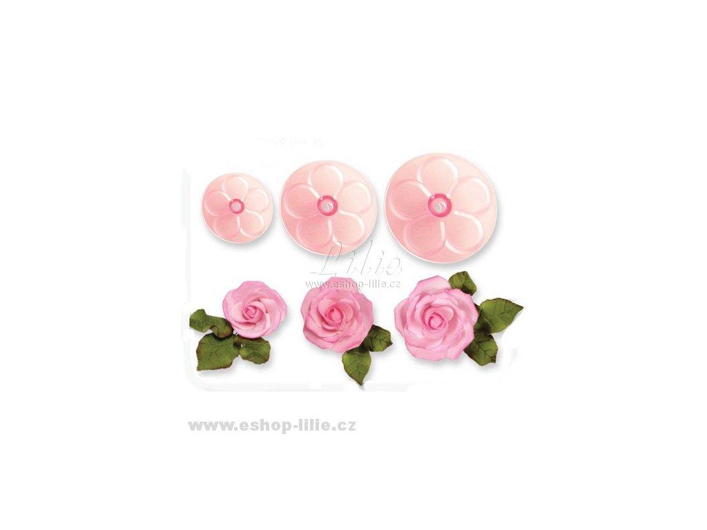 Růže sada vykrajovačů JEM 103FF054