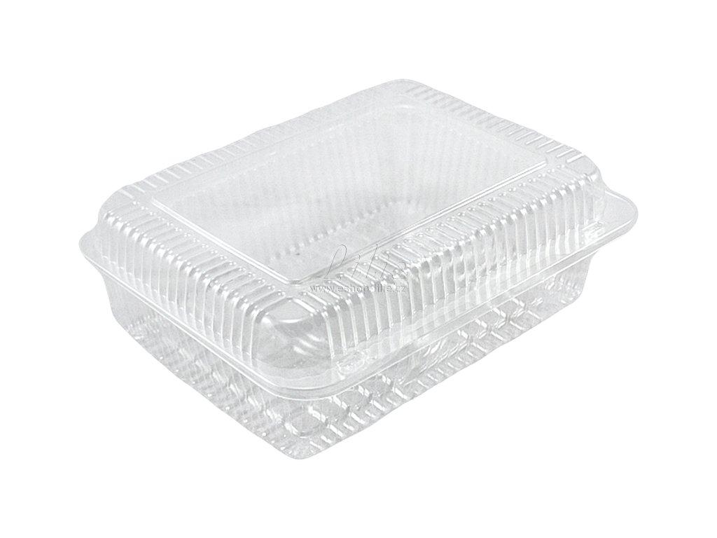Plastová krabice na pečivo 5ks