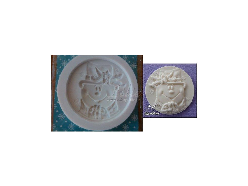 Sněhulák silikonová forma AM0186