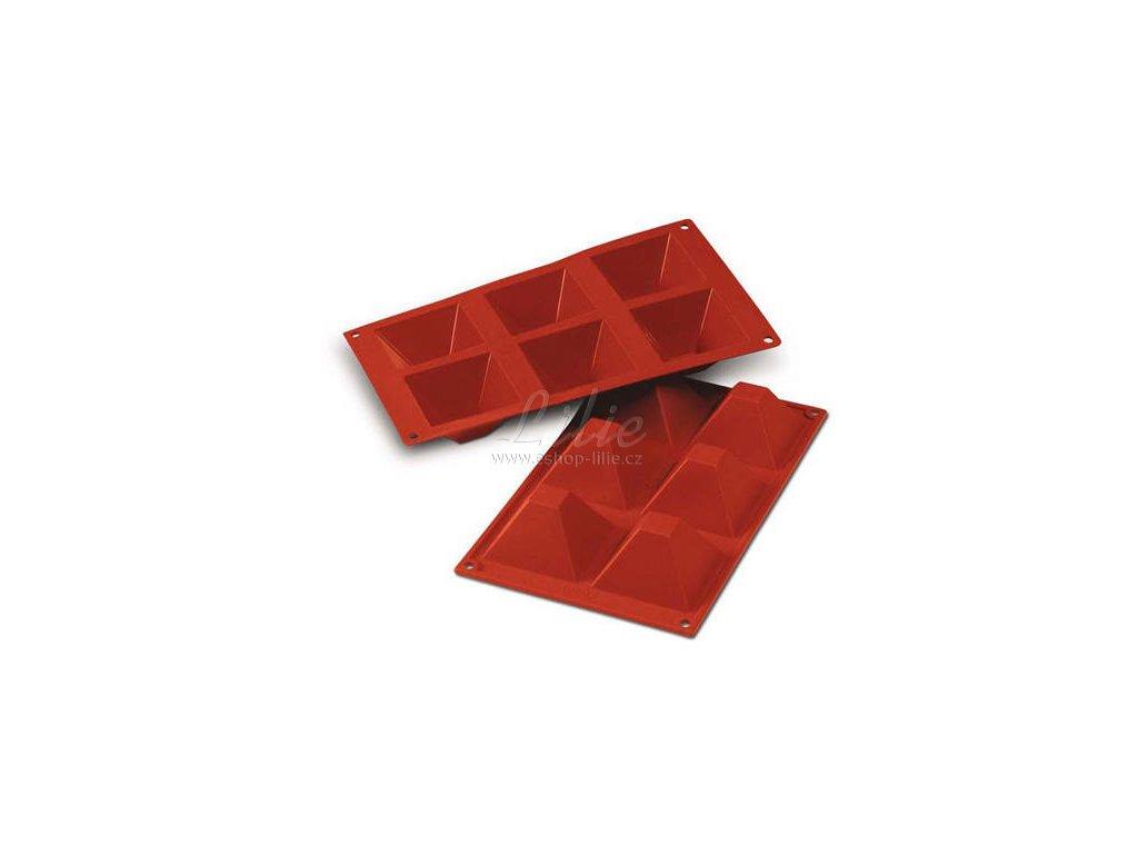 Pyramidy SF007 silikonová forma na pečení