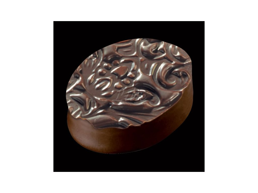 Baroque struktur folie na čokoládu a cukrářské potahovací hmoty
