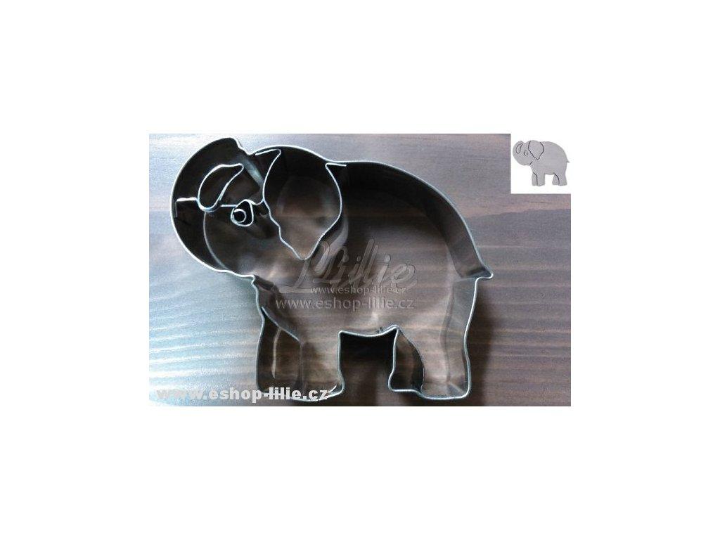 Slon vykrajovátko 184220 na perníčky