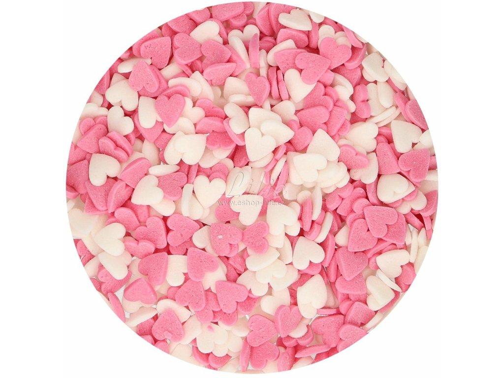 Srdíčka mix cukrářské zdobení G42415