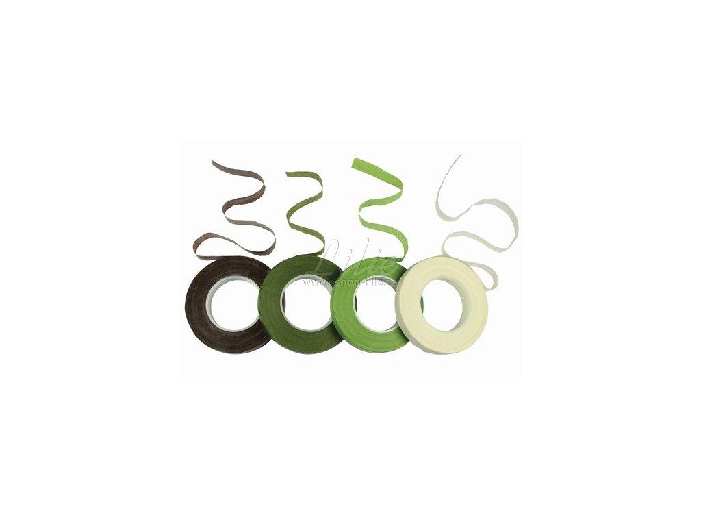 Tmavě zelená floristická páska PME FT201