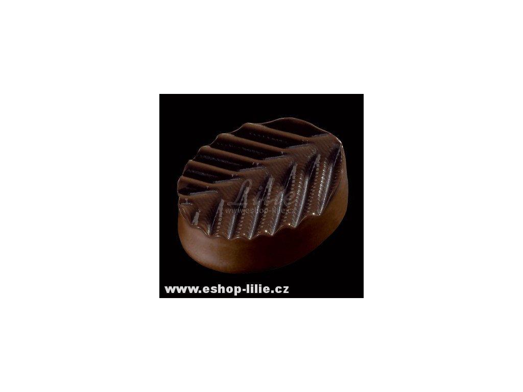 Plume struktur folie na čokoládu ST23