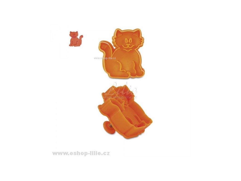 Kočička - plastový vypichovač 170827