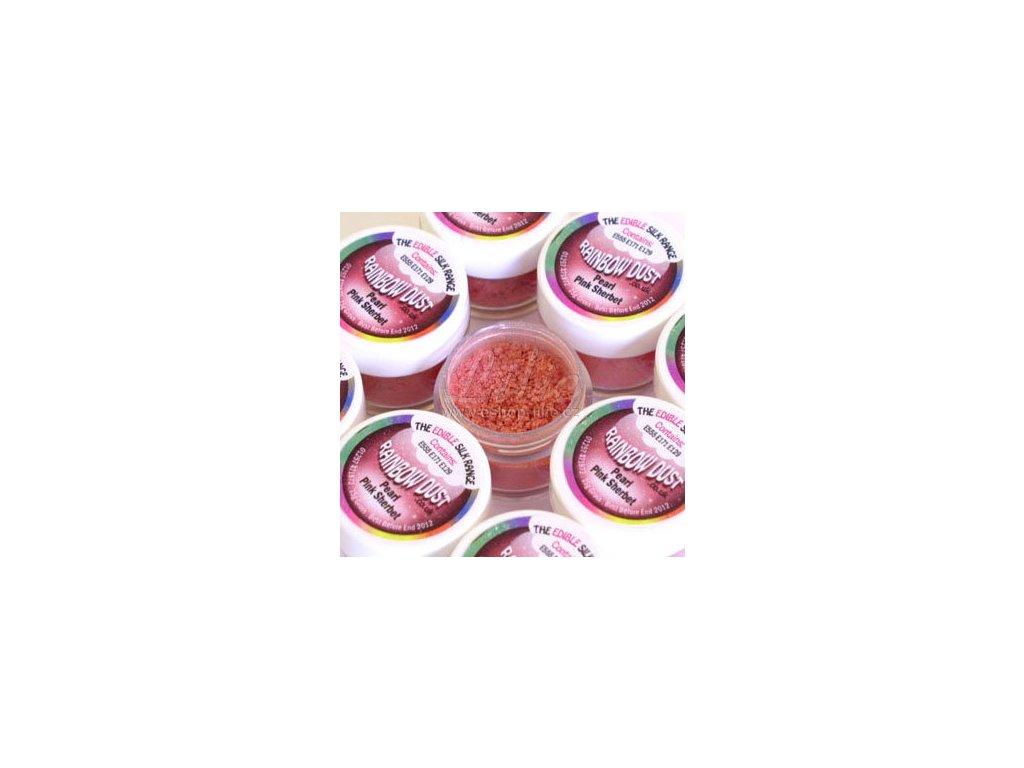 PEARL PINK SHERBET třpytivá růžová prachová barva