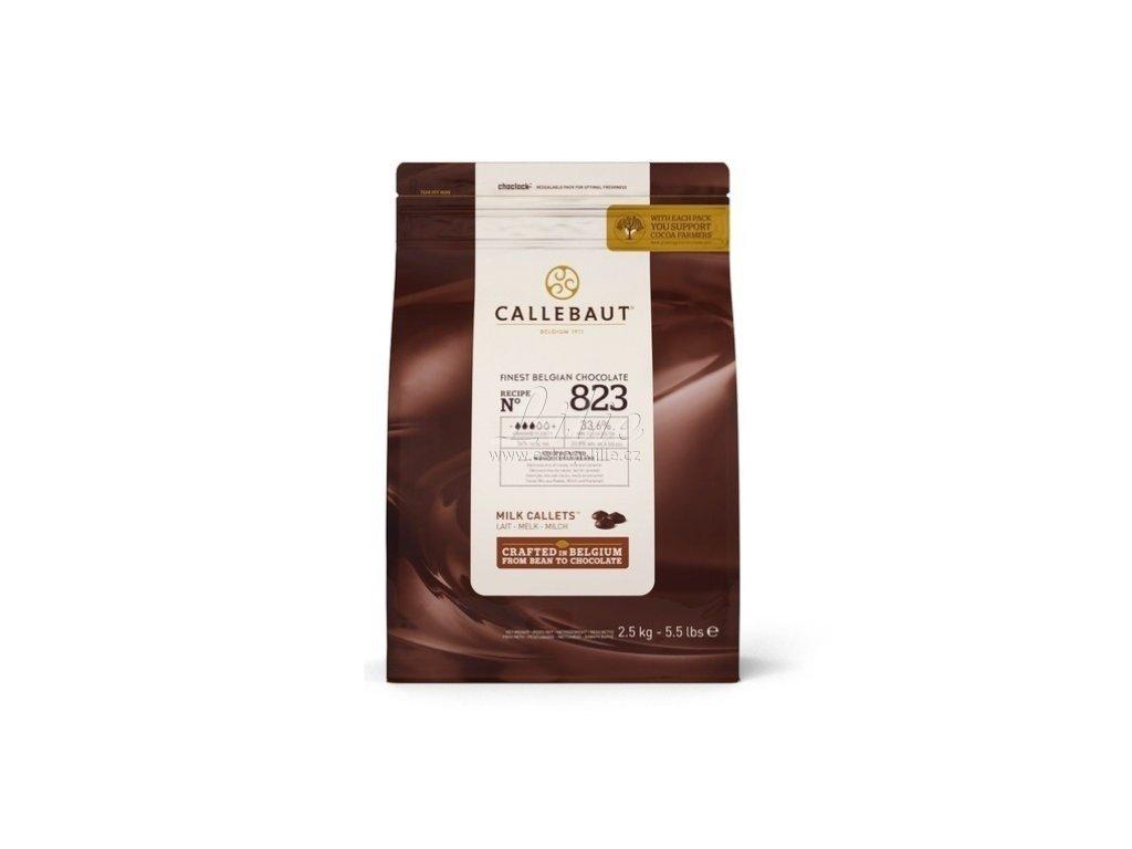 BELGICKÁ MLÉČNÁ čokoláda 33,6% Callebaut 1kg