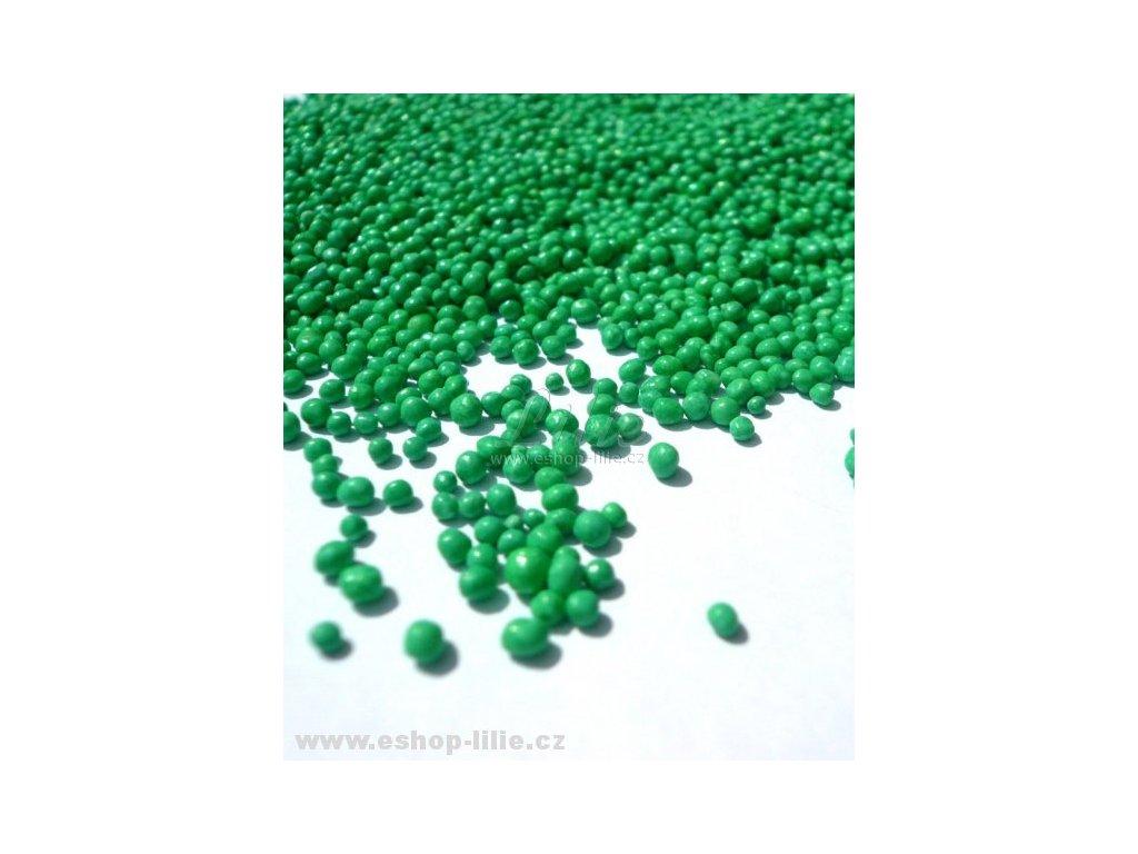 Zelený cukrový máček AMO25