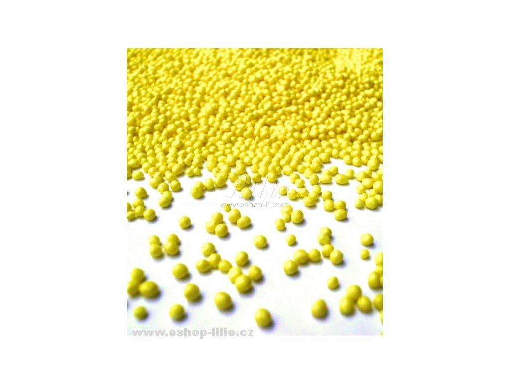 Cukrový žlutý máček AMO27