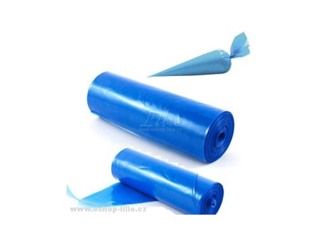 Protiskluzový modrý sáček na zdobení 45cm