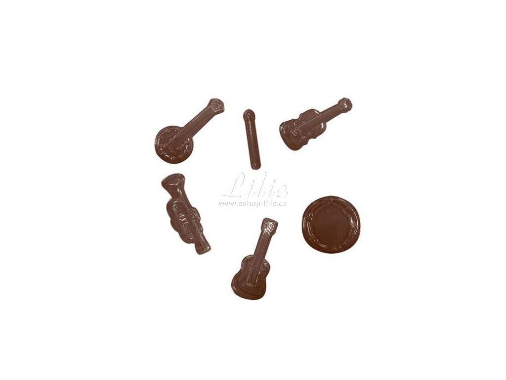 Hudební nástroje plastová forma 90-13912
