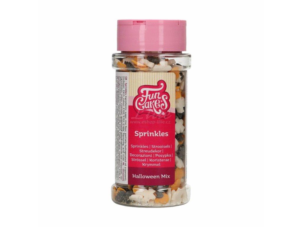 Třpytivé bílé vločky FunCakes G42423
