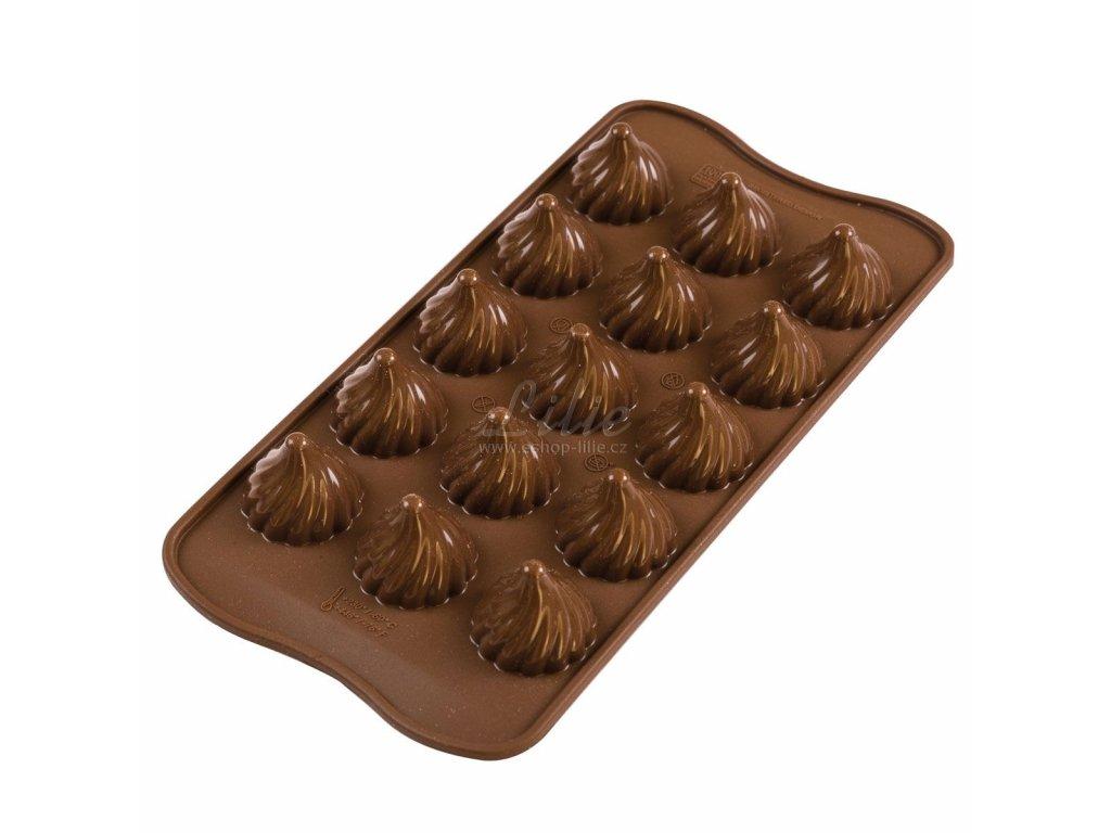 Čokoládový plamen formička na čokoládu SCG147