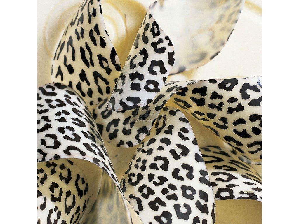 Leopard 007501 transfer folie na čokoládu