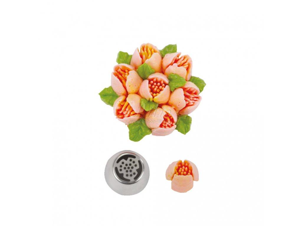3D cukrářská špička s pestíky č.38 0263638