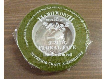 Zelená floristická páska Hamilworth