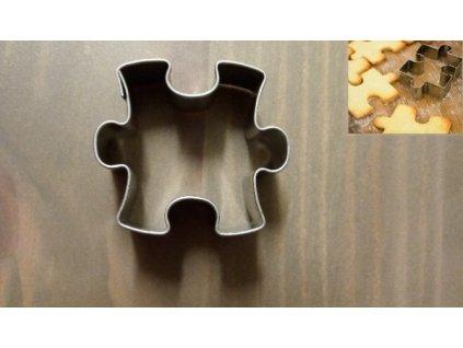 Puzzle 2,5cm vykrajovátko na cukroví a perníčky