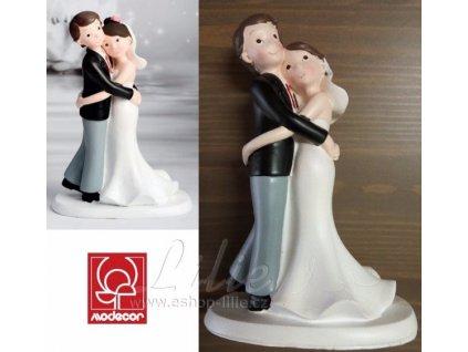 Svatební postavičky na dort 28474
