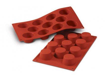 Muffiny SF022 silikonová forma na pečení