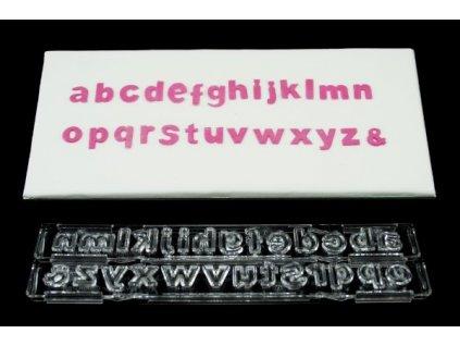 Vyhazovací abeceda malá klasická Clikstix