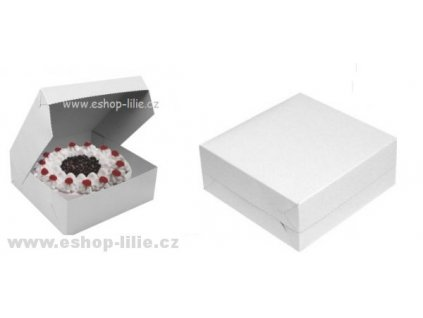 Dortová krabice 25cm x 25cm 5kusů
