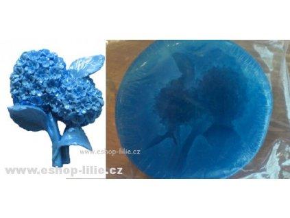 Malá hortenzie silikonová forma FL298