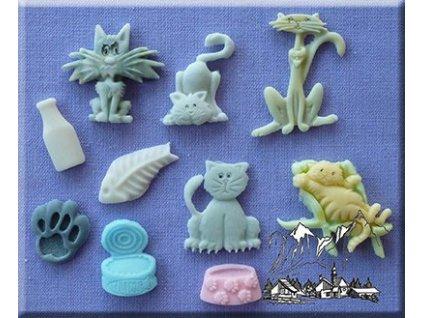 Kočičky AM0026  silikonová forma