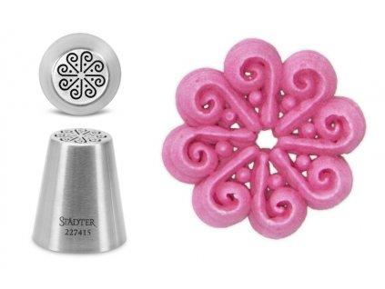 Orientální květina cukrářská špička 227415