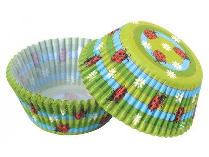 Berušky cukrářské košíčky 50ks MUF-148