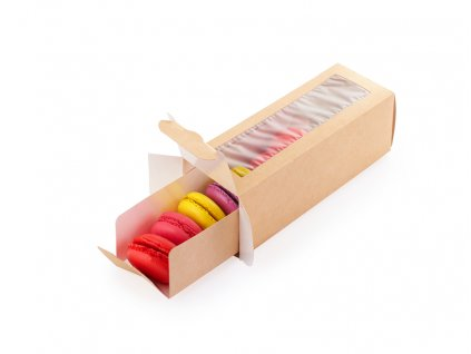 Krabička EKO 5ks na makronky 2630