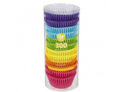 Barevné cukrářské košíčky 300ks 05-0-0034