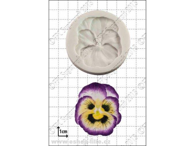 Maceška - silikonová forma FPC A005