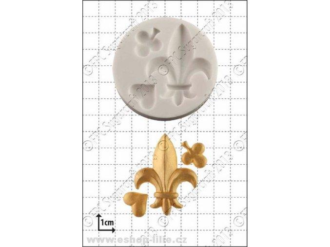 Fleur-de-Lys silikonová forma FPC C009