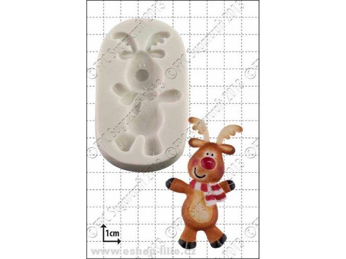 Tančící Rudolf - silikonová formička D026
