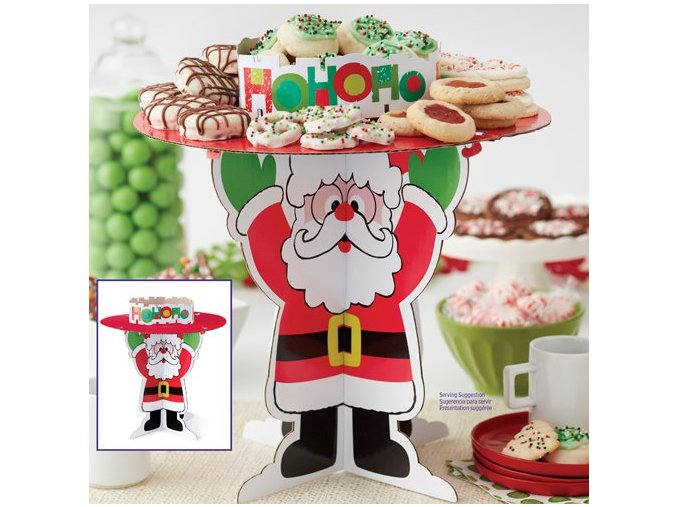 Stojan na cukroví Santa Claus 1512-7200