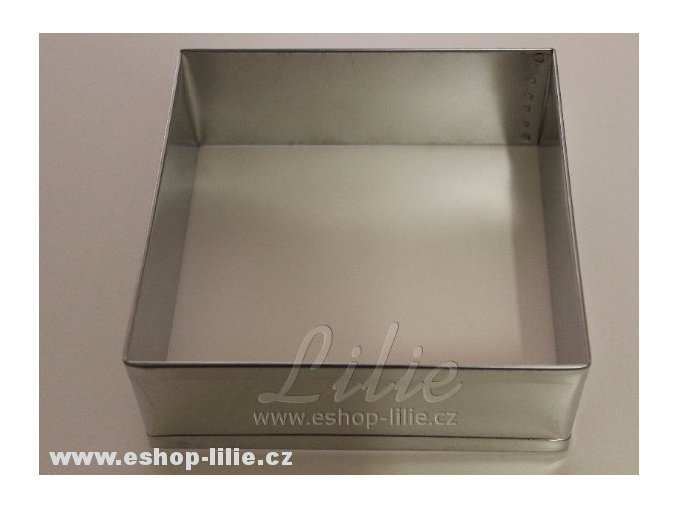 Ráfek čtverec 24cm dortová forma 4108
