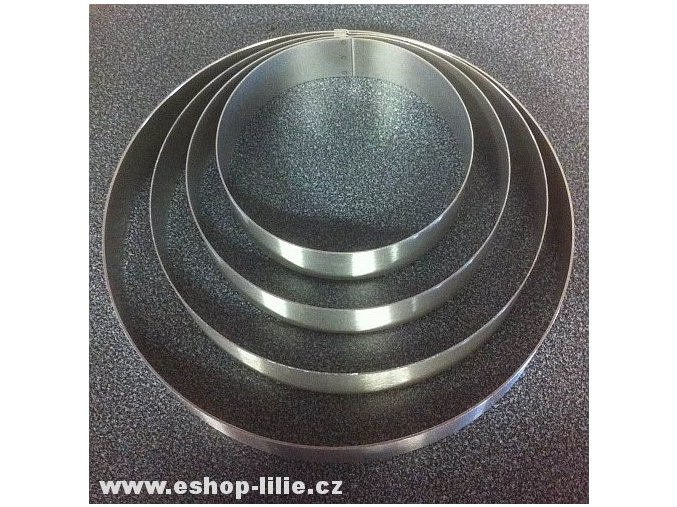 Ráfek kruh 24cm nerezová dortová forma (RAF1024)
