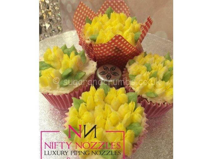 Starburst Flower NN28 cukrářská špička Nifty Nozzles