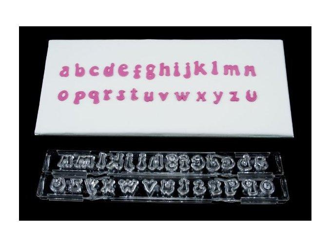 Vyhazovací abeceda malá tučná